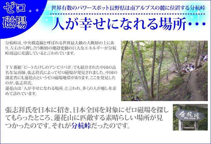 人が幸せになれる場所・・それが世界有数のパワースポット長野県は南アルプスの麓に位置する分杭峠。